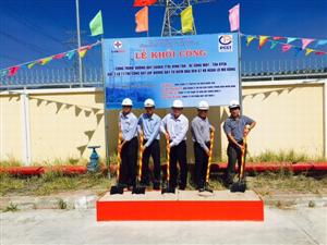 Triển khai thi công công trình Đường dây 500 kV TTĐL Vĩnh Tân- rẽ Sông Mây - Tân Uyên và Trạm biến áp 500 kV Tân Uyên và đấu nối