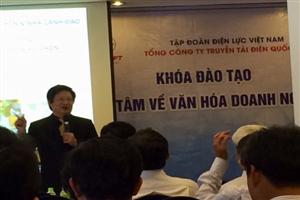 EVNNPT tổ chức lớp đào tạo khai tâm về văn hóa doanh nghiệp tại TP. Hồ Chí Minh