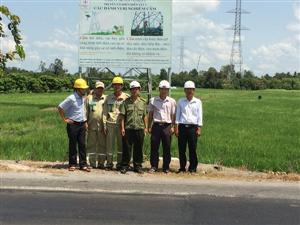 Kiểm tra công tác bảo vệ an ninh trật tự hệ thống lưới điện cao áp trên địa bàn tỉnh Hậu Giang