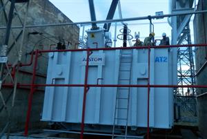 Đóng điện an toàn sau đại tu Máy biến áp AT2 - 500kV tại TBA 500kV Hà Tĩnh