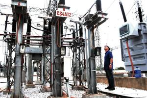 PTC1 đóng điện thành công dự án đại tu máy biến áp 220/110kV-125MVA Trạm biến áp 220kV Tuyên Quang.