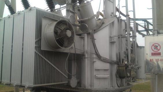 Cải tạo khả năng ngắn mạch máy biến áp chủ số 1 Long Châu 110kV, cục cấp điện Tung Tả- công ty điện lực quảng tây
